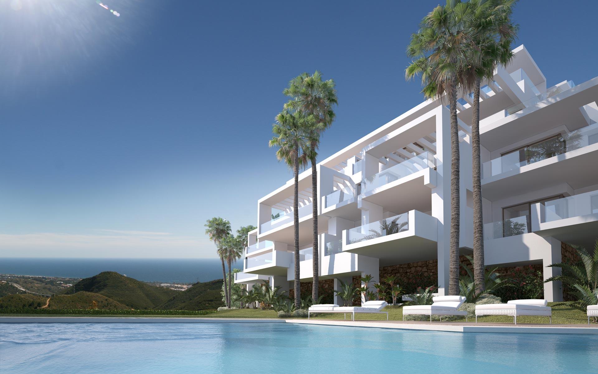 Nieuwbouwproject Ojen, Marbella